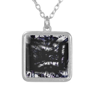 COOL GRAFFITTI SIX SILVER PLATED NECKLACE