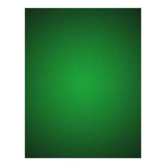 Cool Grainy Green-Black Vignette Full Color Flyer