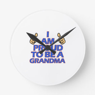 cool grandma designs clocks