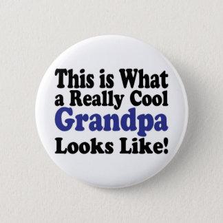 Cool Grandpa 2 Inch Round Button