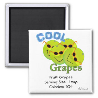 Cool Grapes Magnet