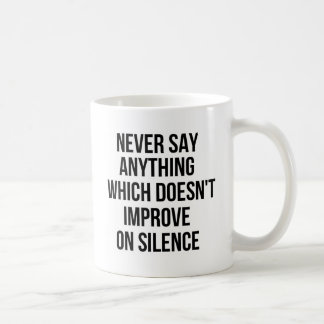 Cool great simple wisdom philosophy tao sentence coffee mug