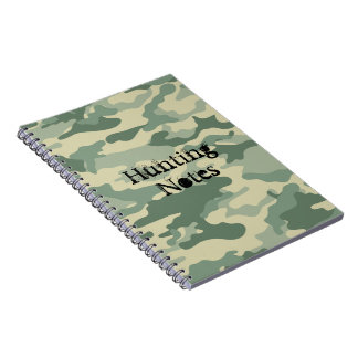 Cool Green Camouflage Pattern Notebook