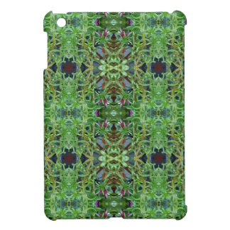 Cool Green Funky Kaleidescope Pattern Cover For The iPad Mini