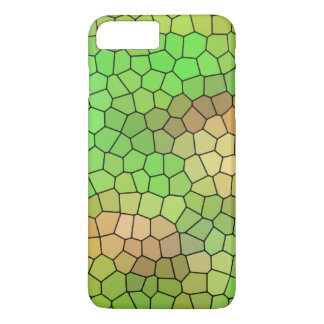 Cool Green Stained Glass Design iPhone 7 Plus Case