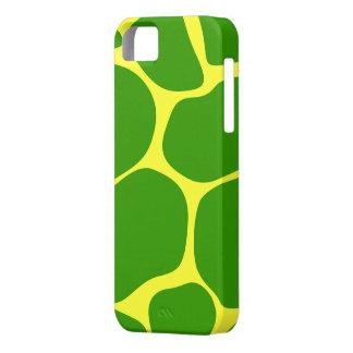 Cool Green/Yellow Giraffe Print - iPhone 5 Case