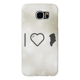 Cool Greenland Countries Samsung Galaxy S6 Cases