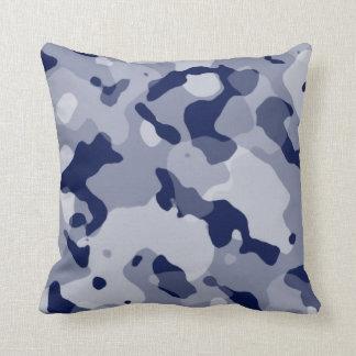 Cool Grey Camo; Camouflage Pillows
