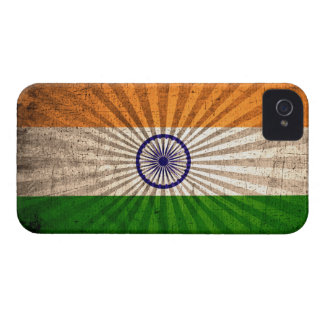 Cool Grunge Indian Flag iPhone 4 Case-Mate Cases
