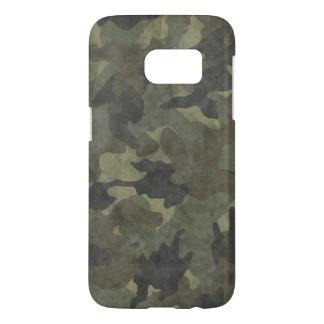 Cool Grunge Khaki Camo Slim Samsung S7 Case Covers