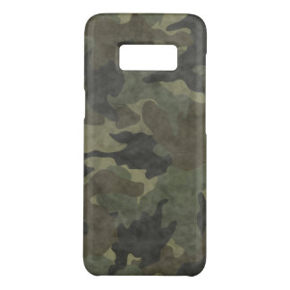 Cool Grunge Khaki Camo Slim Samsung S8 Case Covers