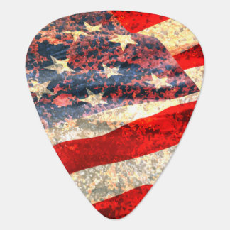 Cool Grunge Look USA Guitar Picks Pick