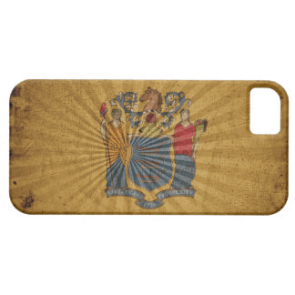 Cool Grunge New Jersey Flag iPhone 5 Case