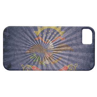 Cool Grunge North Dakota Flag iPhone 5 Cases