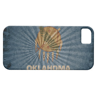 Cool Grunge Oklahoma Flag iPhone 5 Cases