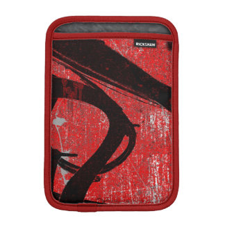 Cool Grunge Red Graffiti iPad Mini Sleeve