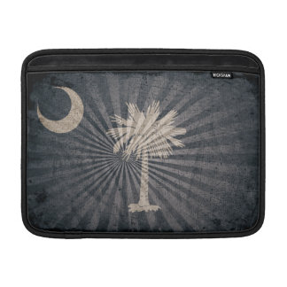 Cool Grunge South Carolina Flag Sleeve For MacBook Air