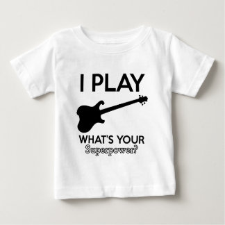 cool guitar electric baby T-Shirt