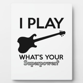 cool guitar electric plaque