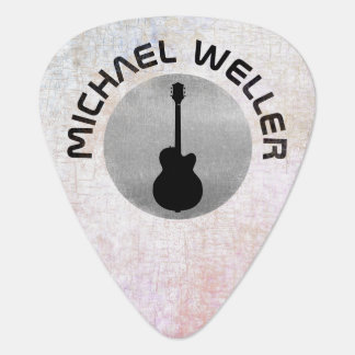 cool guitar pick with his name on it