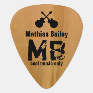 cool guitar picks monogrammed for guitar-players guitar pick