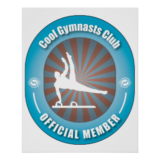 Cool Gymnasts Club Poster