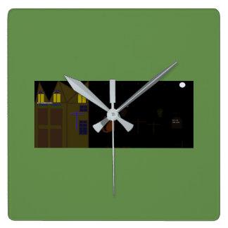 cool halloween clock