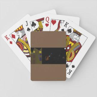 cool halloween poker card set