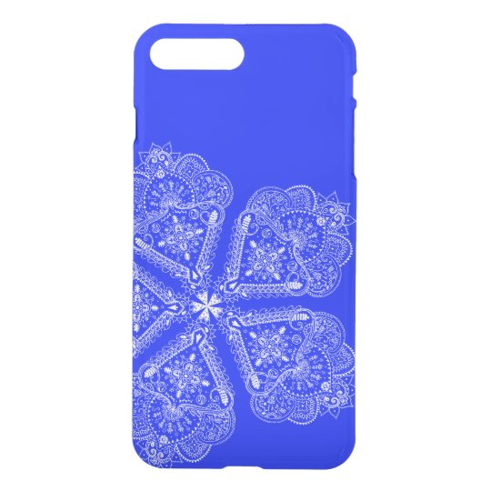 Cool Hand Illustrated Artsy Floral Boho Flower iPhone 8 Plus/7 Plus Case