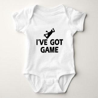 cool handball designs baby bodysuit