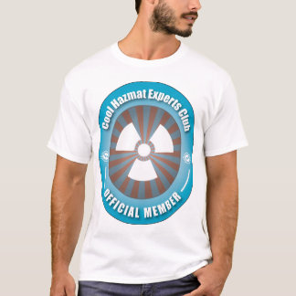 Cool Hazmat Experts Club T-Shirt