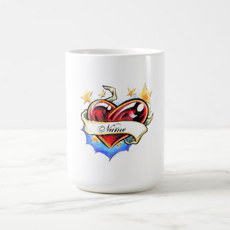 Cool Heart tattoo  mug