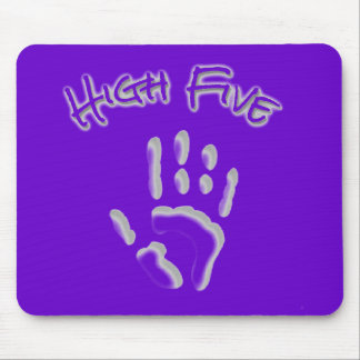 Cool High Five Hand Mouse Pad