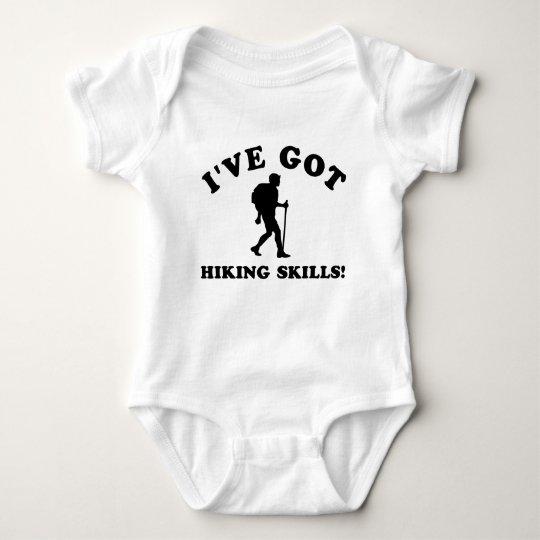 COOL HIKING SKILLS DESIGNS BABY BODYSUIT