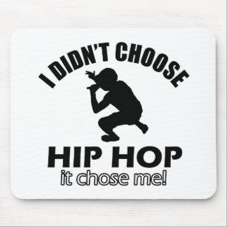 Cool Hip Hop designs Mouse Pad