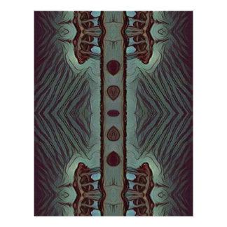 Cool Hip Modetn Abstract Artistic Design Letterhead