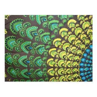 Cool Hippie Design Postcard