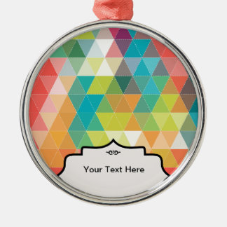 Cool Hipster Pattern Christmas Ornament