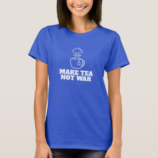 Cool hipster revolution tea graphic and type T-Shirt