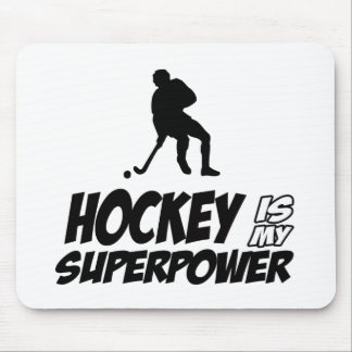 Cool HOCKEY designs Mouse Pad