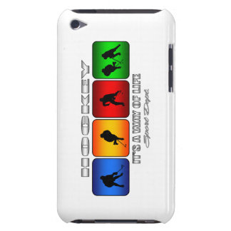 Cool Hockey It Is A Way Of Life Barely There iPod Cover