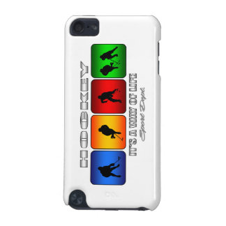 Cool Hockey It Is A Way Of Life iPod Touch 5G Case
