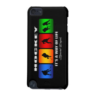 Cool Hockey It Is A Way Of Life iPod Touch (5th Generation) Cases