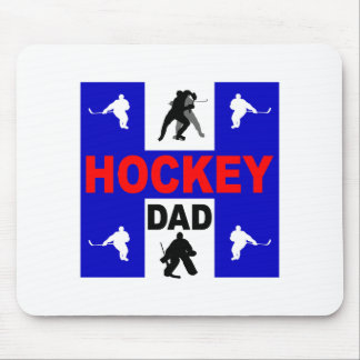 Cool hockey mouse pad
