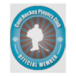 Cool Hockey Players Club Posters