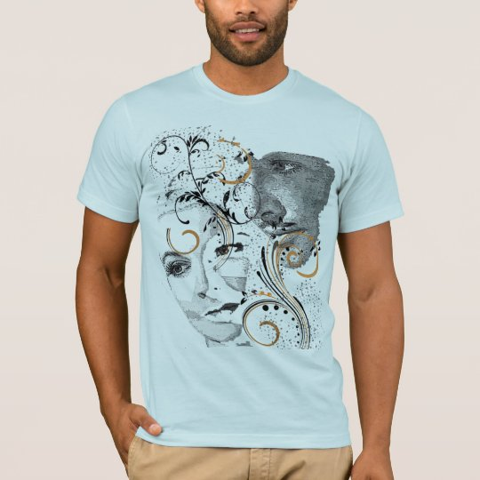Cool Hollywood Star Vector T-Shirt