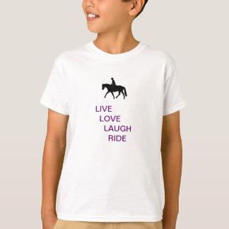 cool horse zen kid tee