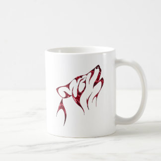 Cool Howling Wolf / Wolves Coffee Mug