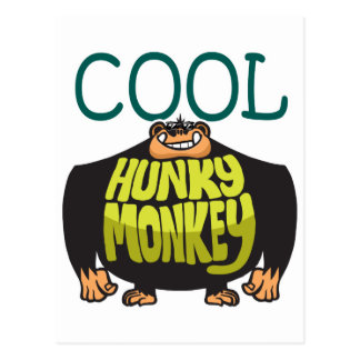 Cool Hunky Monkey Postcard