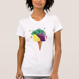 Cool Ice Cream 3 Scoops! Alternative Apparel Shirt
